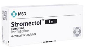 海外で販売されているMSD社のストロメクトール